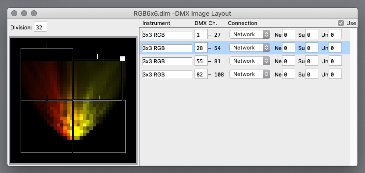 DMX Image Output